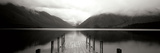 Serene Dock BW II Photographic Print by Bob Stefko
