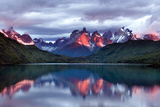 Dawn Torres del Paine Photographic Print by Larry Malvin