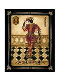 Harlequin Joker Premium Giclée-tryk af Gregory Gorham