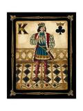 Harlequin King Premium Giclée-tryk af Gregory Gorham