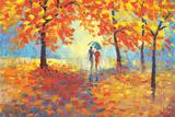 Color of the Rain Posters af Stanislav Sidorov