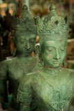 Buddha Statues II Reproduction photographique par Erin Berzel