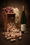 Wine Corks Still Life II Impressão fotográfica por C. McNemar