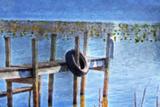 Boat Dock Pastel Impressão fotográfica por C. McNemar