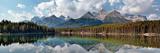 Herbert Lake Panorama Photographic Print by Larry Malvin