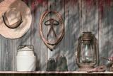 Out in the Barn III Impressão fotográfica por C. McNemar