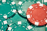Poker Chips I Impressão fotográfica por C. McNemar