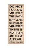 Leave a Trail Stampa giclée premium di N. Harbick
