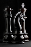Chessmen II Photographic Print by C. McNemar