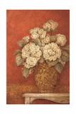 Hortensias Villa Flora Reproduction giclée Premium par Pamela Gladding