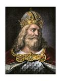 Idealized Portrait of Charlemagne Reproduction procédé giclée