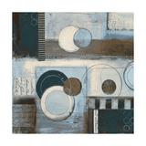 Rush Hour Blues Sq II Kunstdrucke von Kimberly Poloson