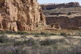 Anasazi/Ancestral Puebloan Ruins of Chetro Ketl in Chaco Canyon, New Mexico Lámina fotográfica