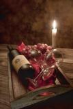 Wine by Candlelight I Impressão fotográfica por C. McNemar