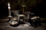Pewter Still Life II Photographic Print by C. McNemar