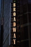 Broadway Sign Photographic Print by Brian Moore