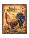 Tuscan Rooster II Stampe di Todd Williams