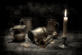 Pewter Still Life I Photographic Print by C. McNemar