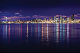Seattle Skyline I Photographic Print by Bob Stefko