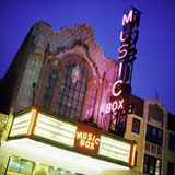 Music Box Theatre Photographic Print by Bob Stefko