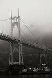 St. Johns Bridge I Reproduction photographique par Erin Berzel
