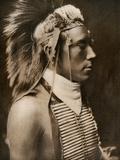 A Crow Boy in Dance Costume, 1905 Stampa fotografica