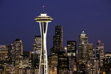 Space Needle I Photographic Print by Bob Stefko