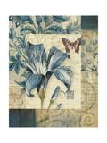 Blue Moods Lily Posters par Pamela Gladding