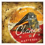 Change Happening Giclée-tryk af Rodney White