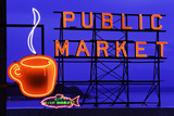Public Market Sign I Photographic Print by Bob Stefko