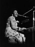 Aretha Franklin Fotografie-Druck von Norman L. Hunter