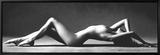 Bakoverlent modell Innrammet lerretstrykk av Scott McClimont