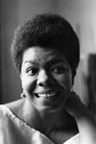 Maya Angelou Photographic Print by G. Marshall Wilson
