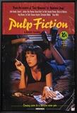 Pulp Fiction Leinwandtransfer mit Rahmung