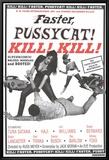 Faster Pussycat! Kill! Kill! Framed Canvas Print