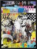 No Parking Ingelijste canvasdruk van Vincent Gachaga