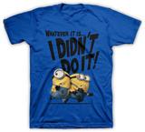 Joven: Gru - Mi villano favorito 2 - Yo no he sido T-Shirts