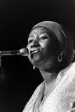 Aretha Franklin Fotografisk tryk af Ted Williams