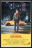 Taxi Driver Leinwandtransfer mit Rahmung
