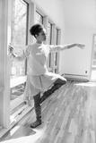 Debbie Allen, Dance Studio 1982 Fotografie-Druck von Moneta Sleet Jr.