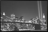 New York Leinwandtransfer mit Rahmung