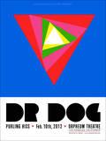 Dr. Dog at the Orpheum Theatre Poster von Kii Arens