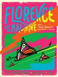 Florence and the Machine Kunstdrucke von Kii Arens