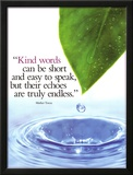Kind Words Poster