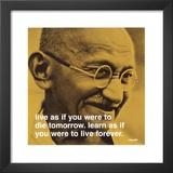 Gandhi: Viver e Aprender Poster