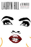 Lauryn Hill at the Warfield Affiches par Kii Arens