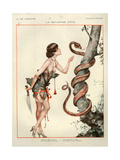 1920s France La Vie Parisienne Magazine Plate Giclée-tryk