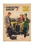 1930s UK Passing Show Magazine Cover ジクレープリント