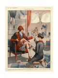 1920s France La Vie Parisienne Magazine Plate Giclée-vedos