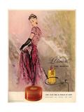 1940s USA Coty Magazine Advertisement Giclée-tryk
